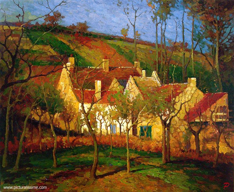 Tableau Impressionniste Pissaro