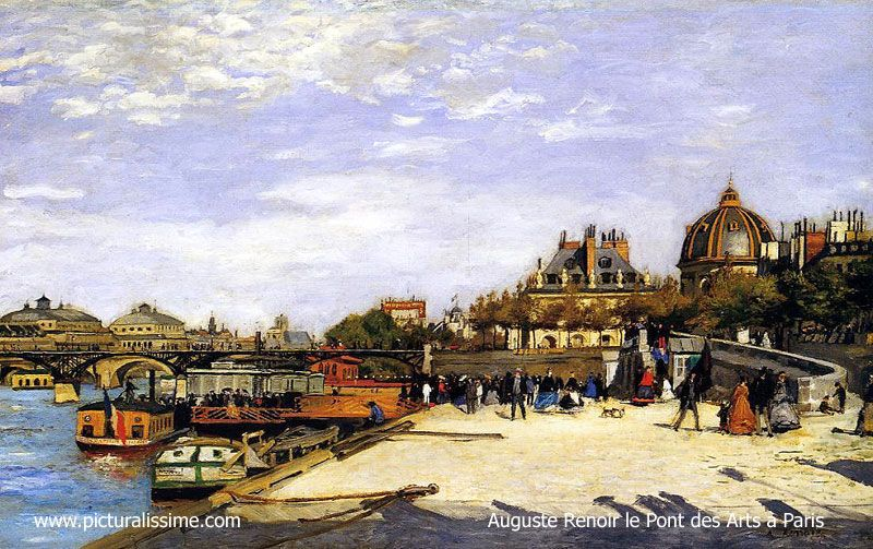 Tableau Impressionniste Renoir